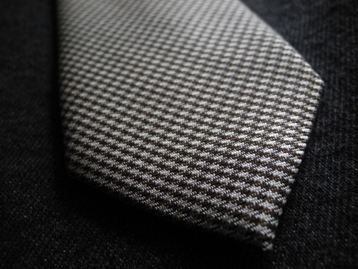 Фото - Мужской галстук необычный интересный узкий с узором Nigel HALL
