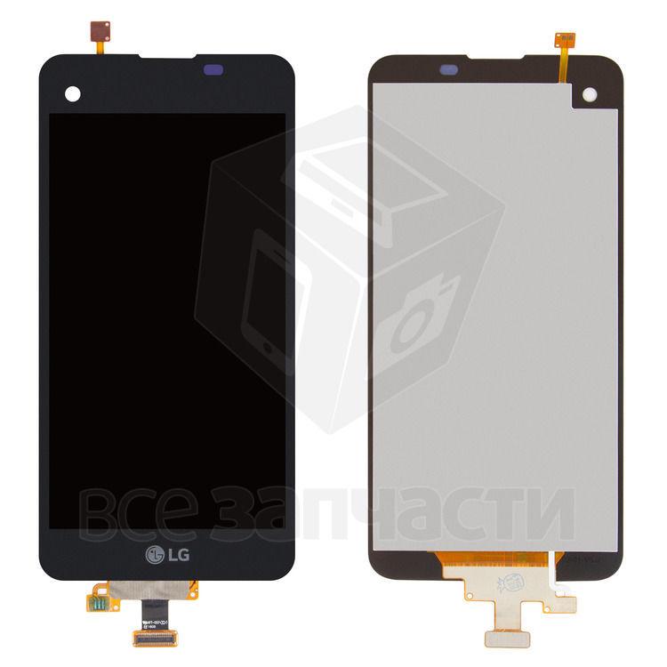 Фото - Дисплейный модуль LG K500N, X Screen, X View K500DS, черный,