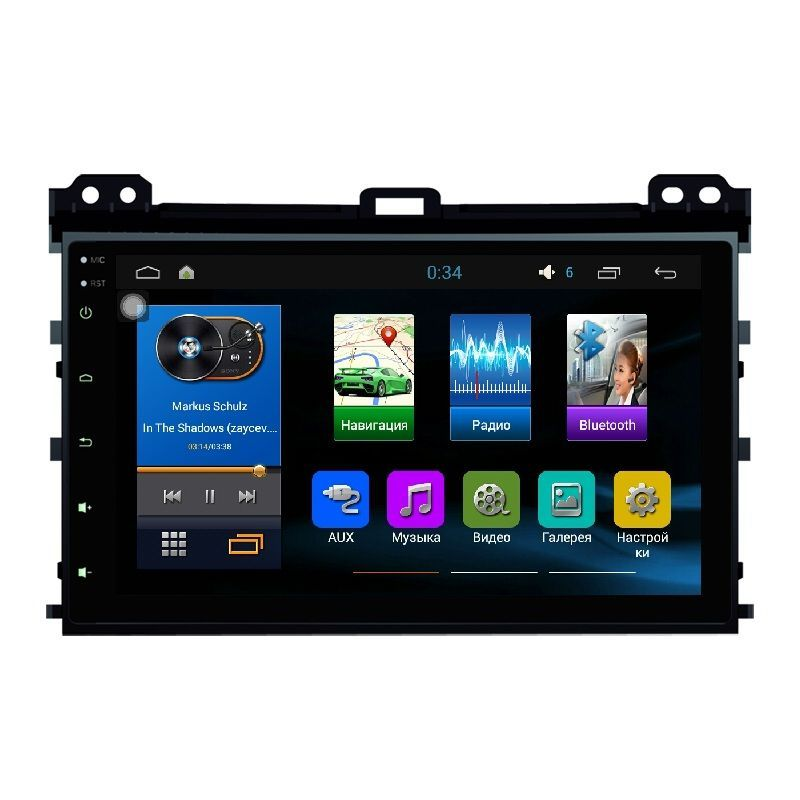 Фото - Штатная магнитола Sound box ST-4413 для Toyota Prado 120(Euro)10.2