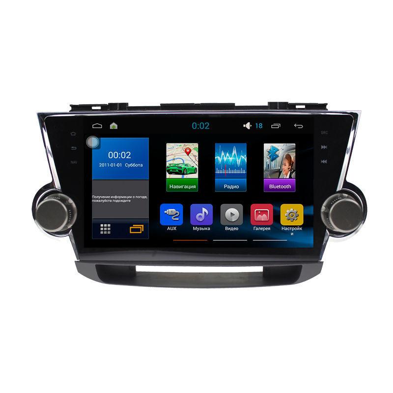 Фото - Штатная магнитола Sound box ST-4411 для Toyota Highlander 2007-2014