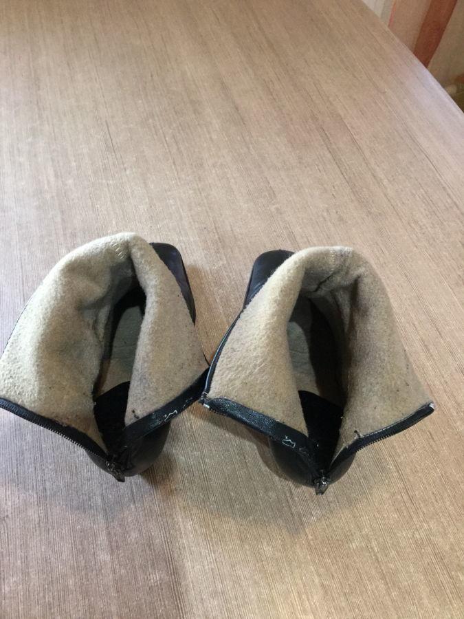 Фото 6 - Продам демисезонные женские кожаные полусапожки