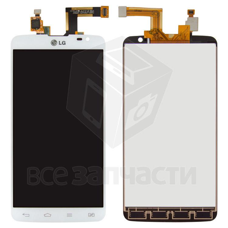 Фото - Дисплейный модуль LG D686 G Pro Lite Dual, белый,