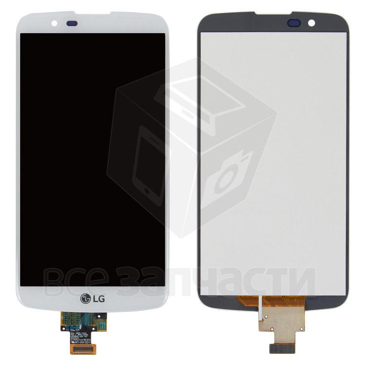 Фото - Дисплейный модуль LG K10 K420N,K10 K430DS K10 K430DSF,K10 K430D белый