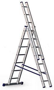 Фото - Аренда лестницы 3-х секционная 50 гр. сутки.