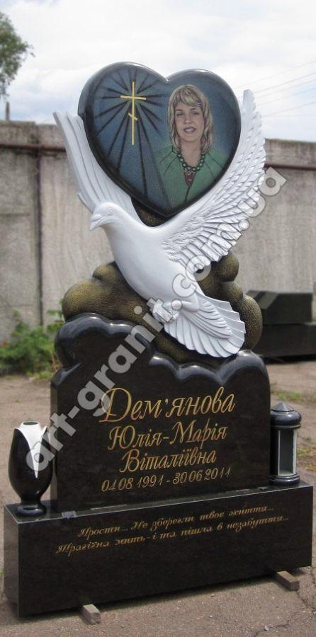 Фото 7 - Арт-Мастерская Богдана Пшеченко. Эксклюзивные памятники из гранита