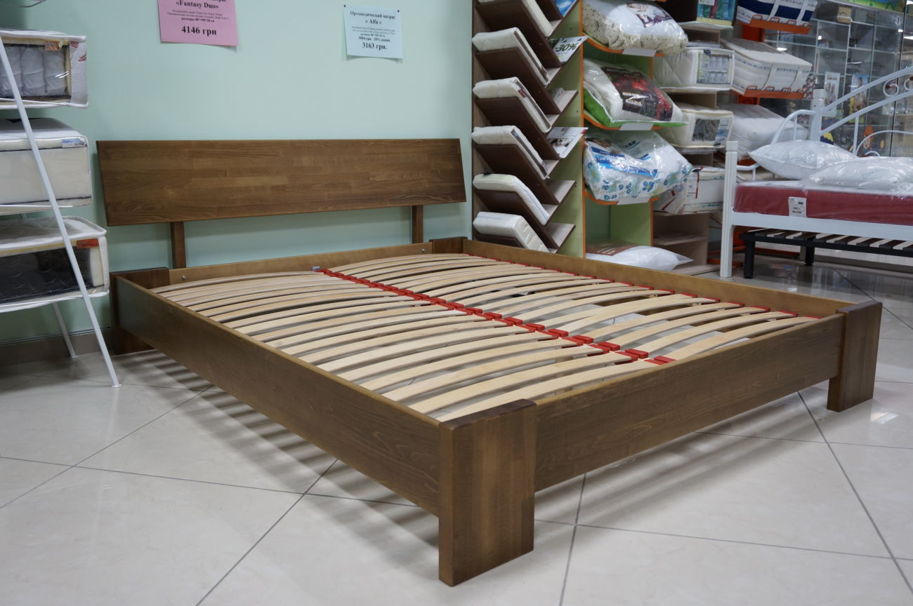 """Фото - Деревянная кровать """"Титан"""" Эстелла"""