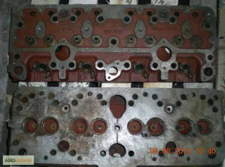 Фото - Головка блока цилиндров СМД-17, СМД-18 Комбайн НИВА, трактор ДТ-75