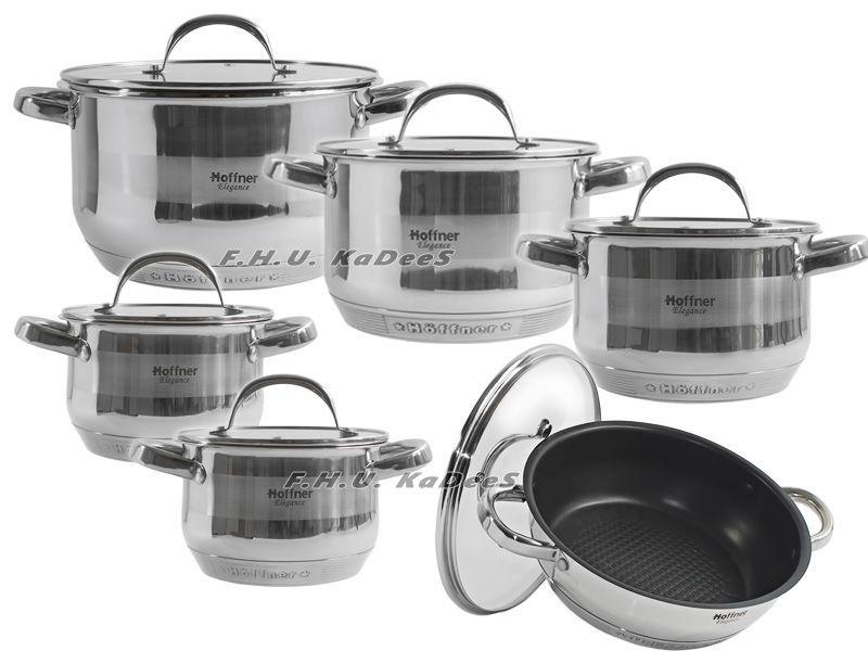 Фото - Набор посуды HOFFNER посуд набор кастрюль