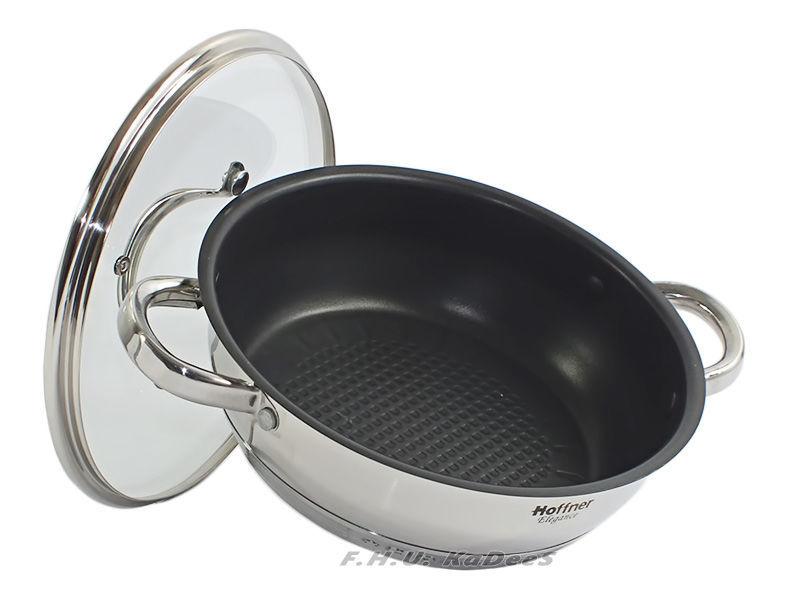 Фото 2 - Набор посуды HOFFNER посуд набор кастрюль