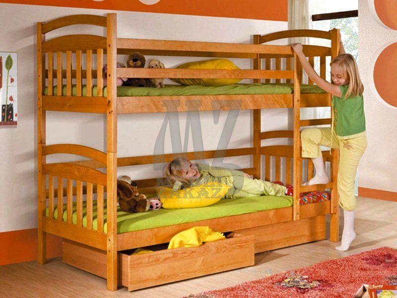 Фото - 2 Яруса Двухъярусная кровать Иринка