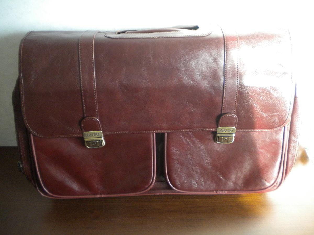 Фото - Дорожная сумка Gufo из натуральной кожи