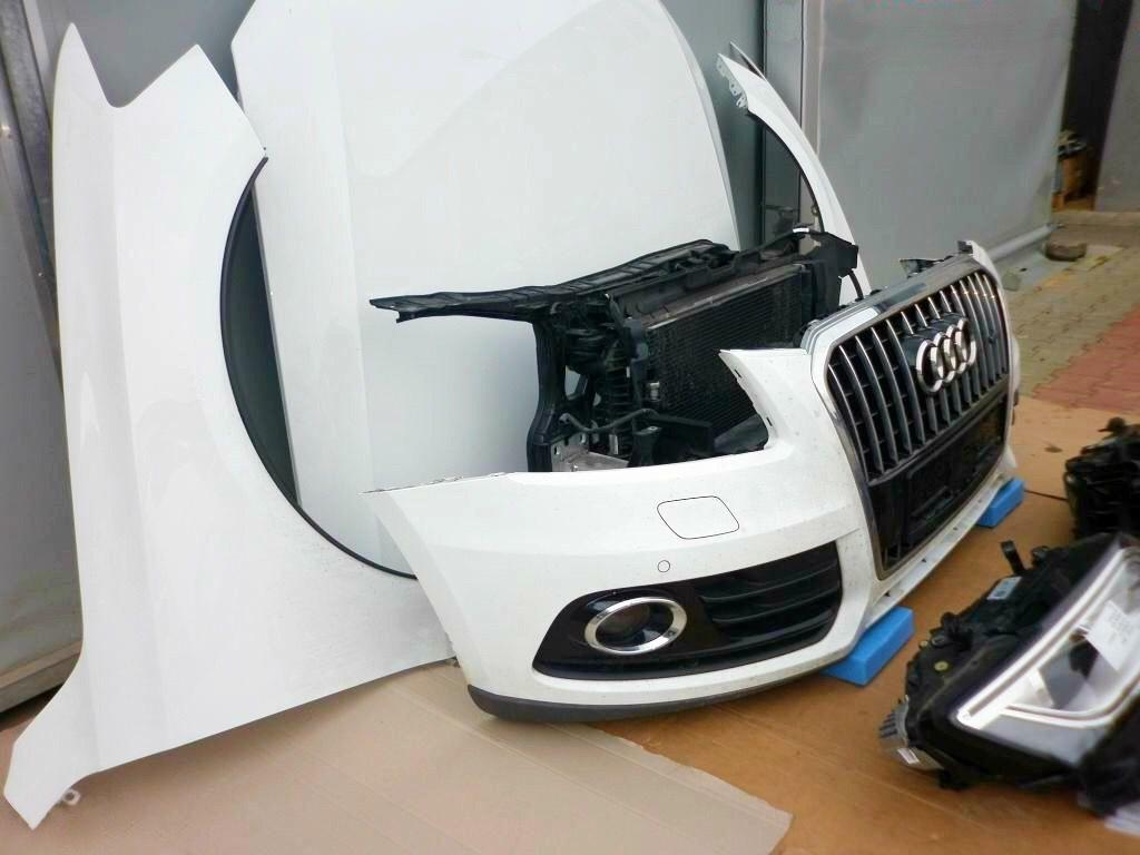 Фото 2 - AUDI Q5 8R0 Капот Бампер передний Крыло Фара правая левая Телевизор