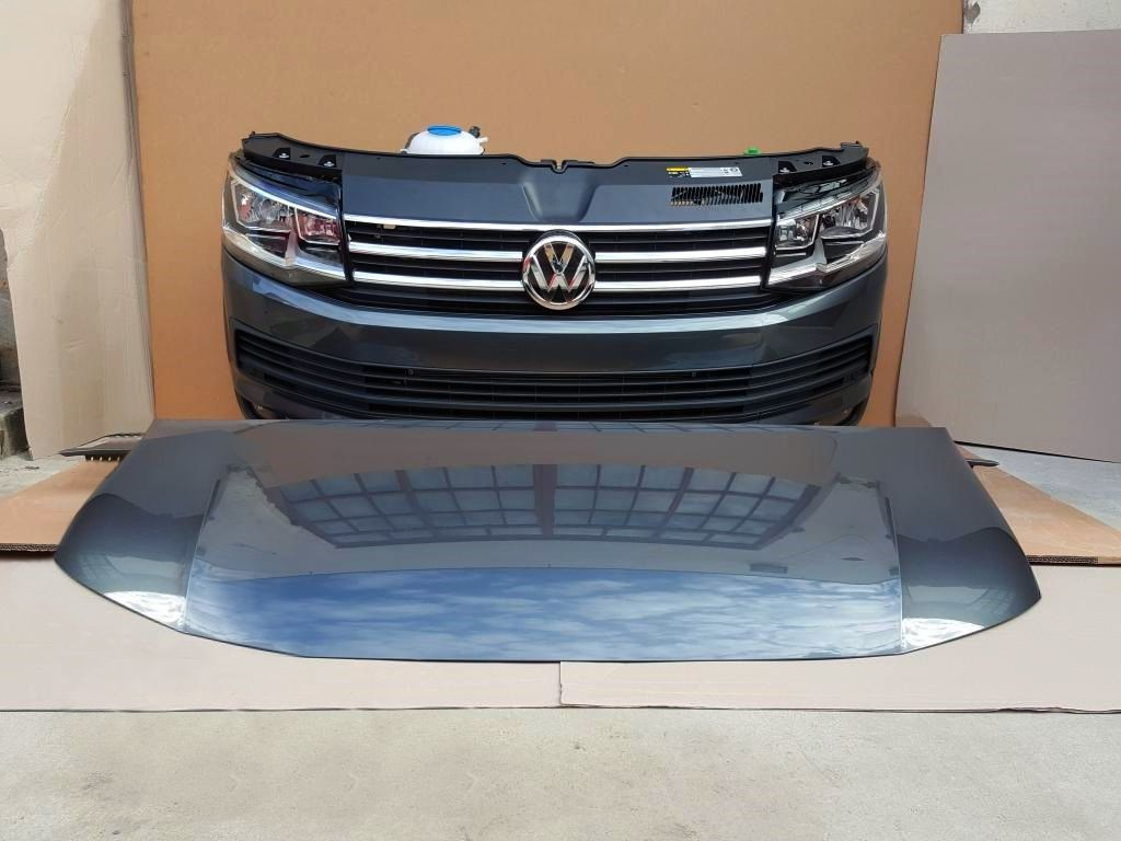 Фото - T6 Volkswagen Caravelle, VW Multivan Капот Бампер передний Крыло Фара