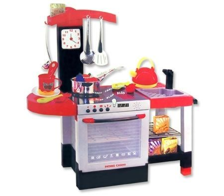 Фото - Детский игровой набор «Кухня 011» с посудкой и аксессуарами