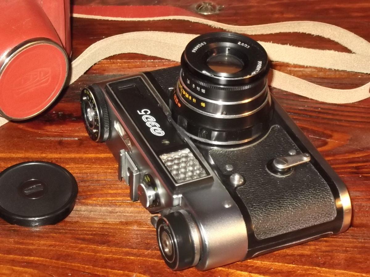Фото - Плёночный фотоаппарат ФЭД-5В в отличном рабочем состоянии!