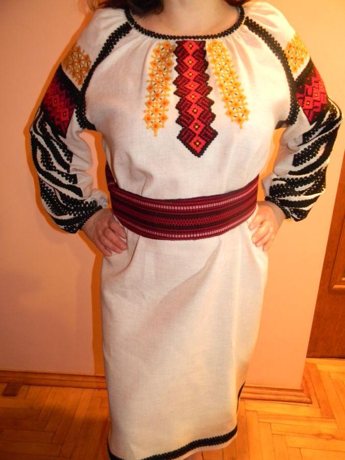 Плаття Вишиванка (графіка борщівська) 1596b5d42a454