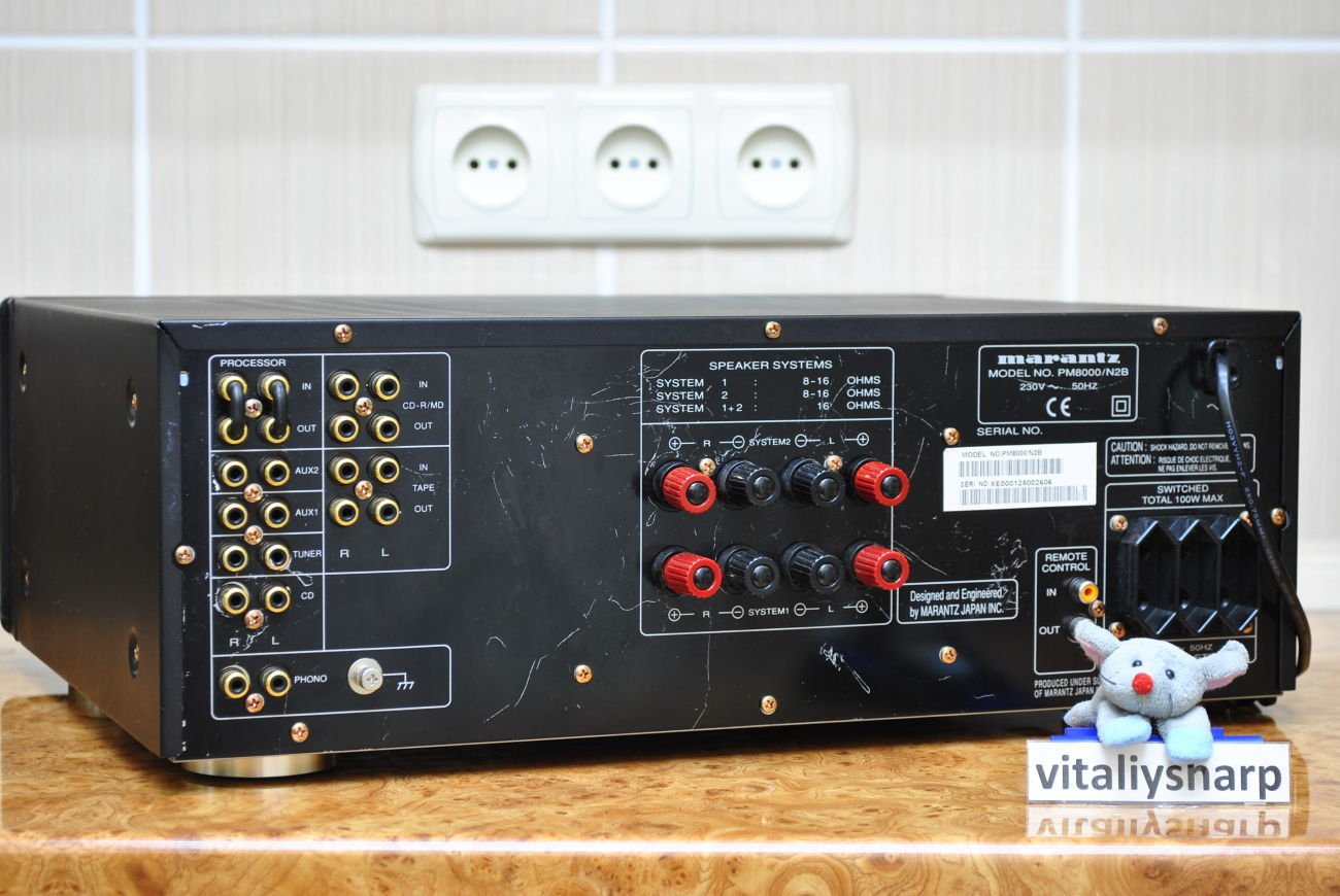 Фото 5 - Hi-End усилитель MARANTZ PM-8000