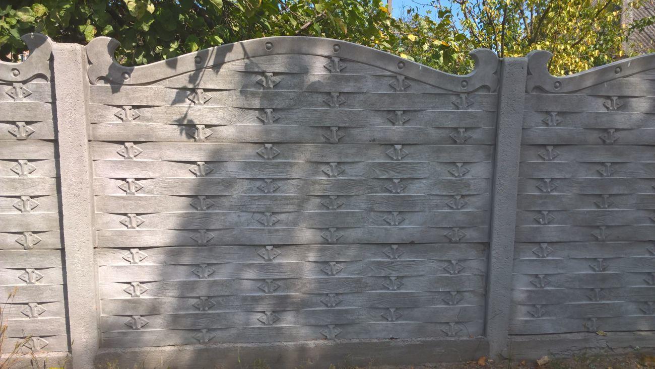Фото 7 - бетонный забор