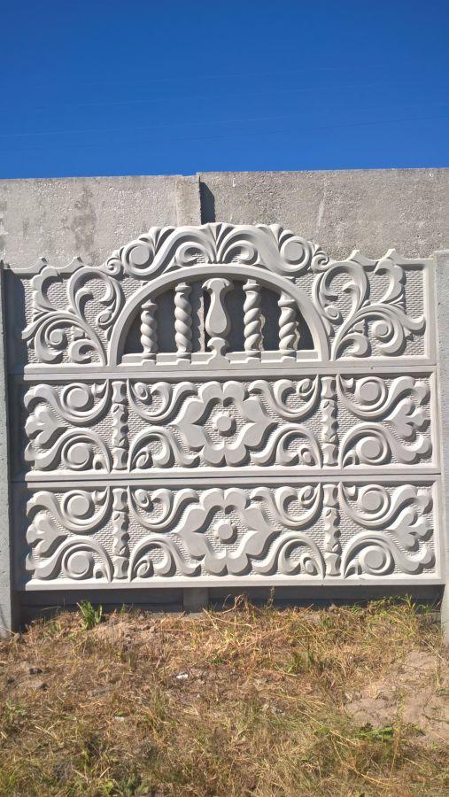 Фото 9 - бетонный забор