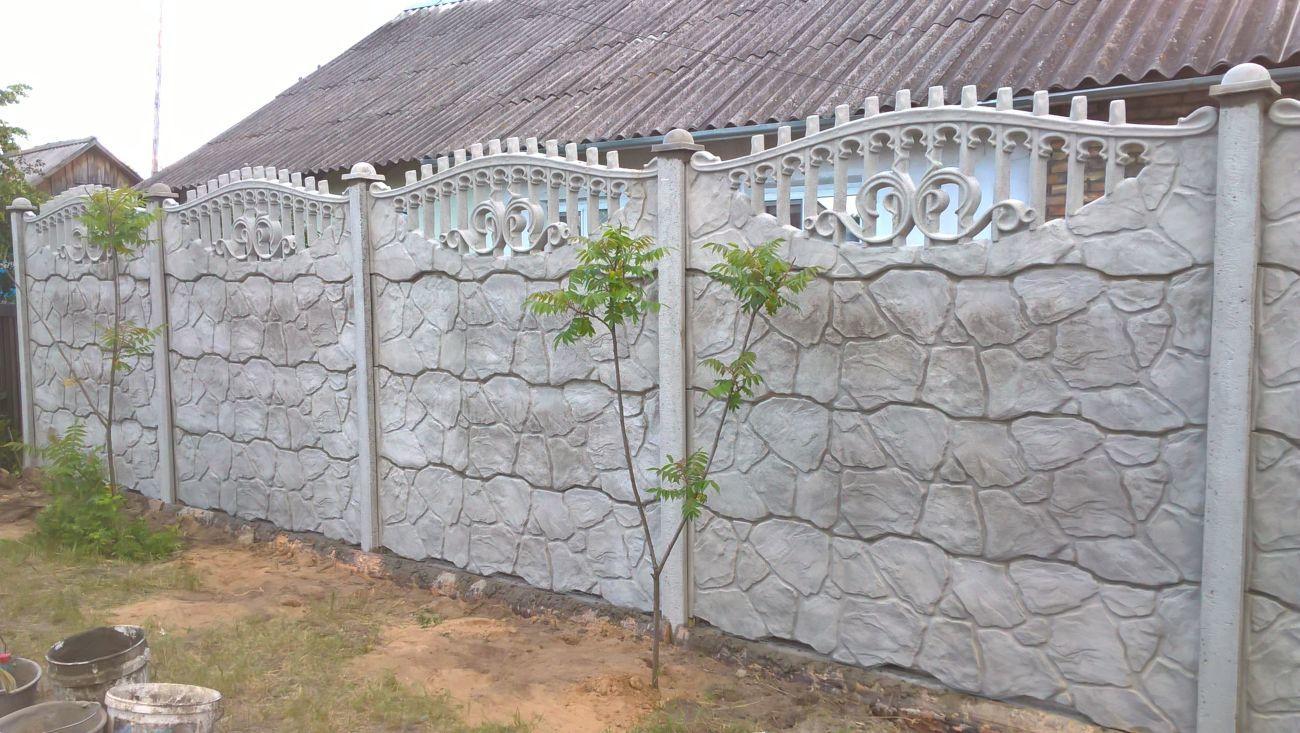 Фото 6 - бетонный забор