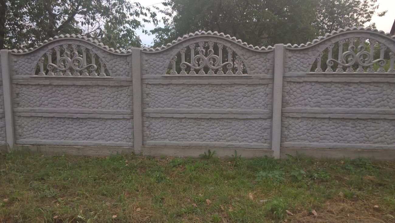 Фото 8 - бетонный забор