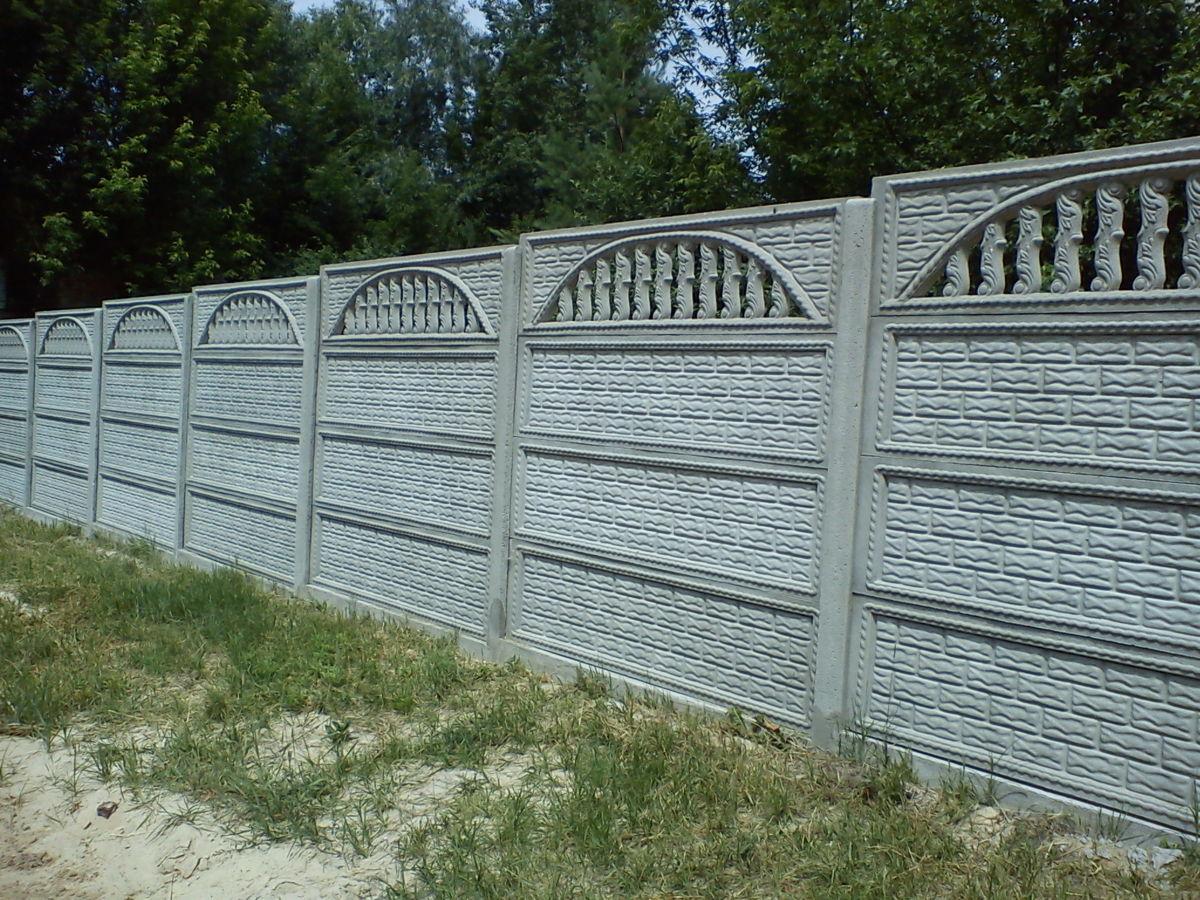 Фото 4 - бетонный забор