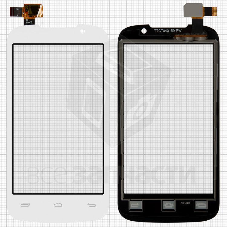 Сенсор (тачскрин)  Prestigio MultiPhone 3400 Duo, белый