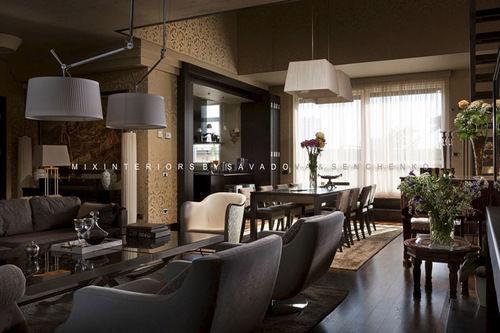 Фото 8 - Эксклюзивный дизайн апартаментов в стиле «фьюжн» на Воровского.