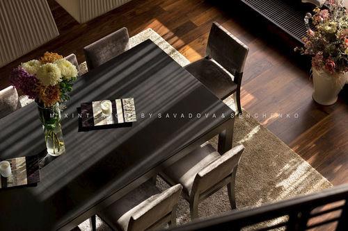 Фото 6 - Эксклюзивный дизайн апартаментов в стиле «фьюжн» на Воровского.