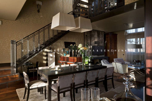Фото 4 - Эксклюзивный дизайн апартаментов в стиле «фьюжн» на Воровского.