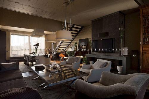 Фото 10 - Эксклюзивный дизайн апартаментов в стиле «фьюжн» на Воровского.