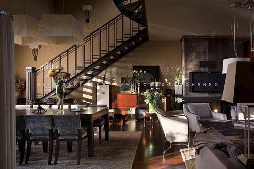 Фото 3 - Эксклюзивный дизайн апартаментов в стиле «фьюжн» на Воровского.