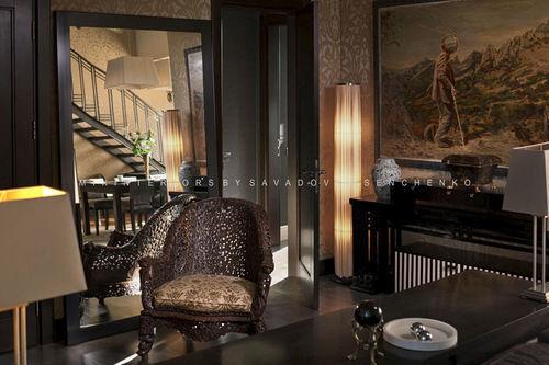 Эксклюзивный дизайн апартаментов в стиле «фьюжн» на Воровского.