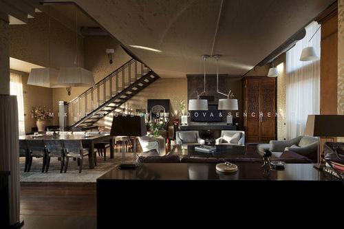 Фото 2 - Эксклюзивный дизайн апартаментов в стиле «фьюжн» на Воровского.