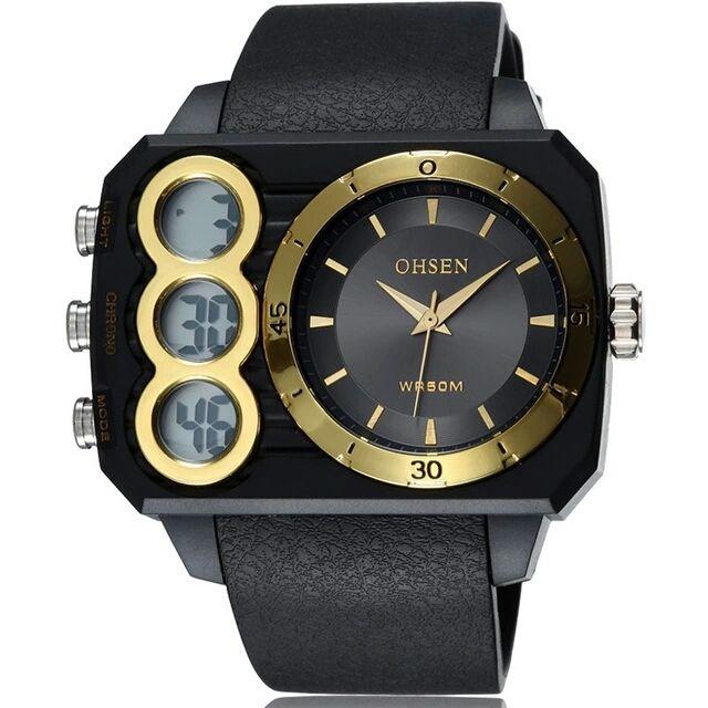 Крутые мужские часы OHSEN