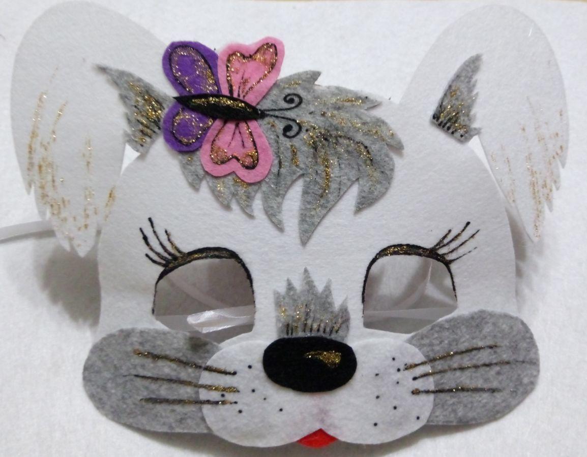 Фото - Детская маскарадная маска Зайчик