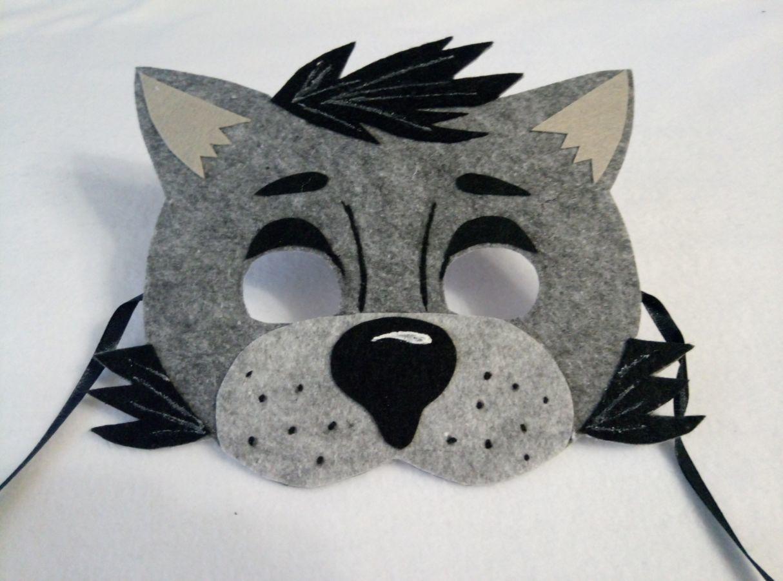 Фото - Детские маски Волка