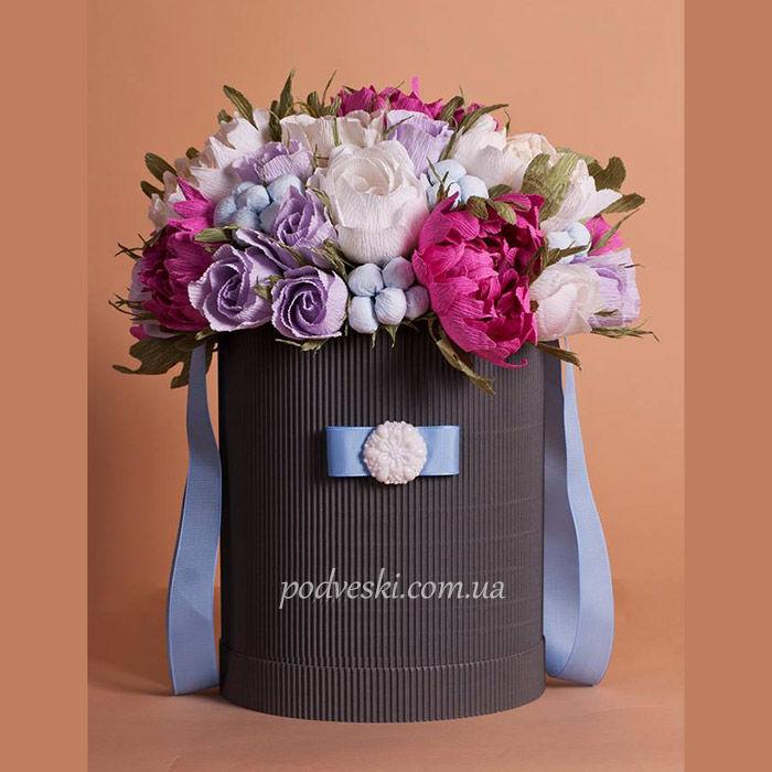 Оригинальный букет цветов в подарок
