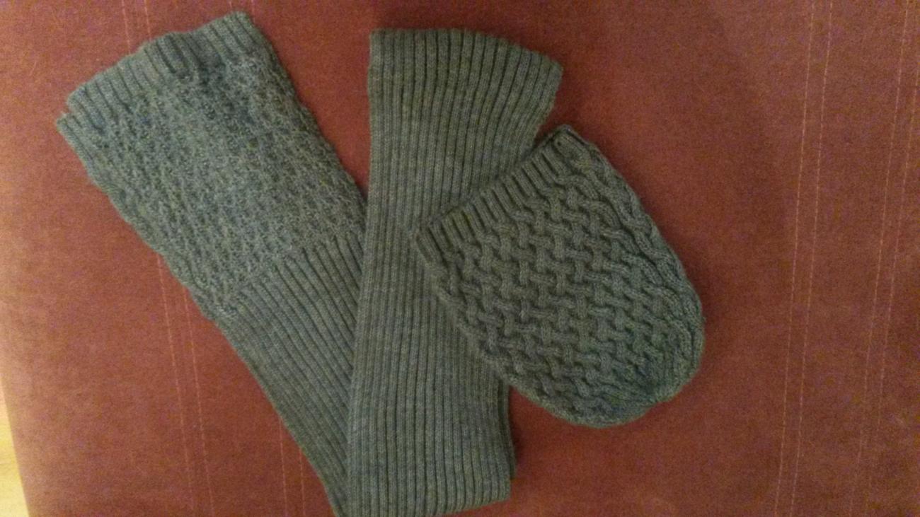 Фото 3 - Комплект шарф и шапка