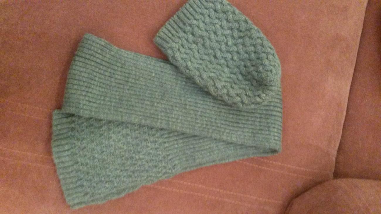 Фото - Комплект шарф и шапка