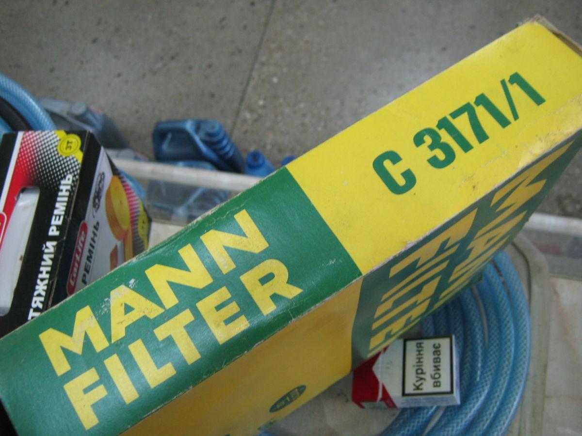 Фото 2 - Фильтр воздушный MANN C3171/1 FORD, OPEL