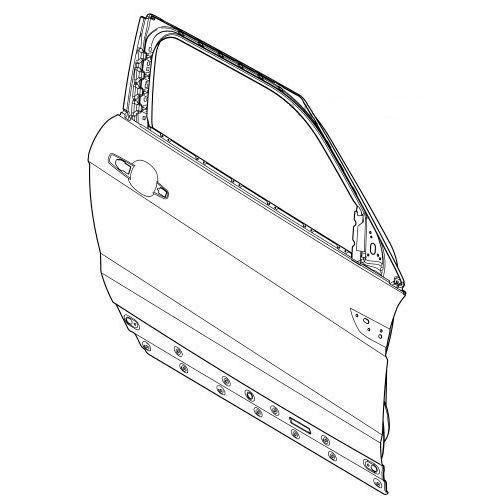 LR028552 Дверь передняя RH (правая), 5 Door | Range Rover Evoque