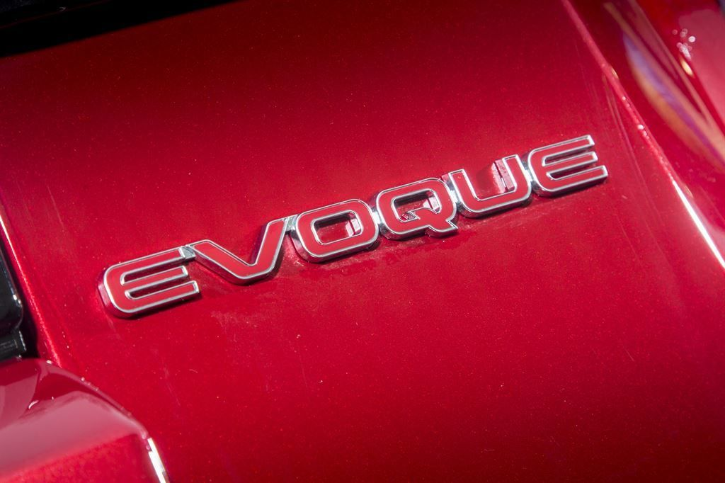 "LR078572 Задняя эмблема ""Evoque"" Red | Range Rover Evoque"