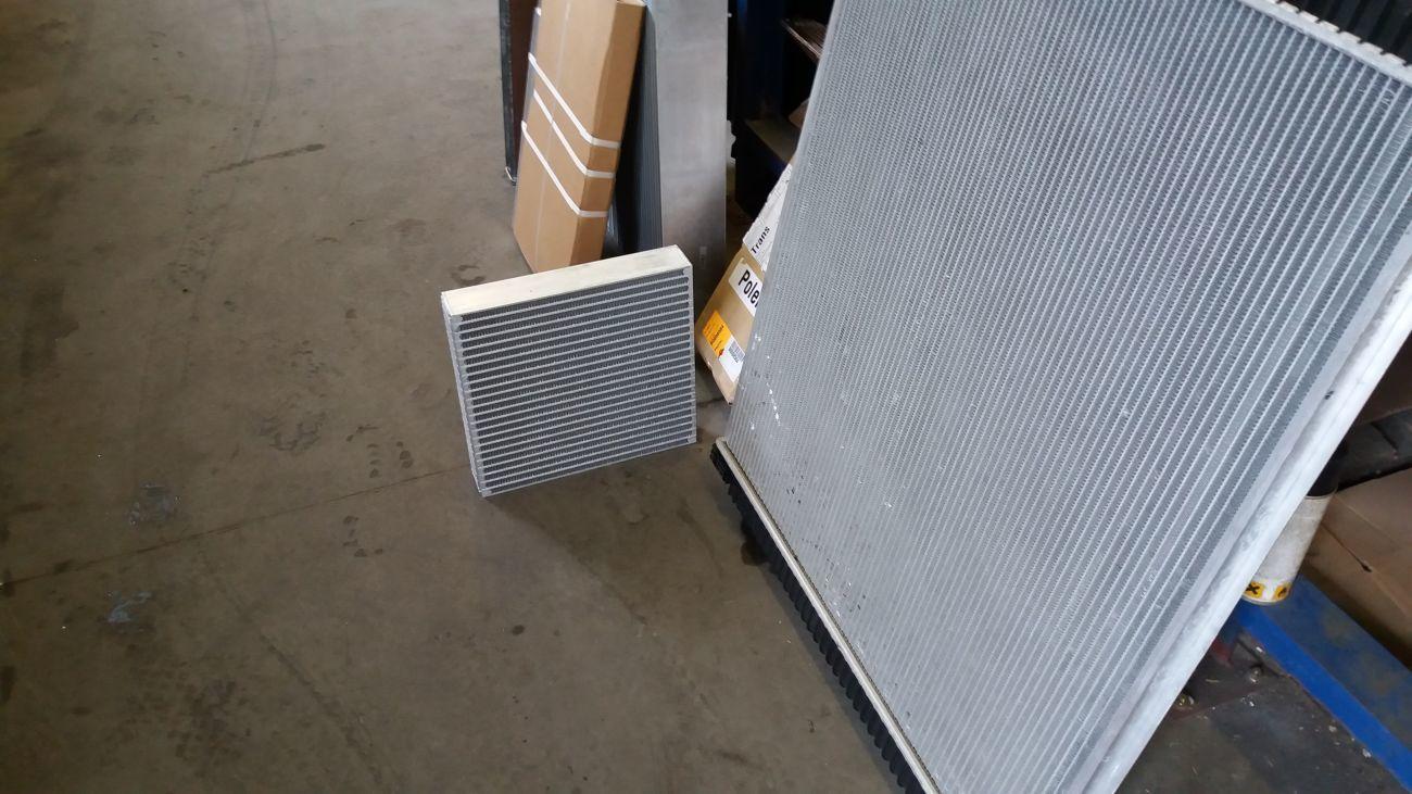 Сотовые части для радиатора системы охлаждения