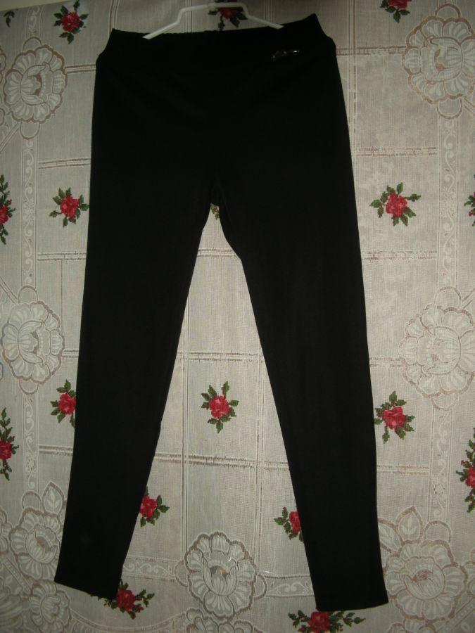 Супер брюки черного цвета,р.xl