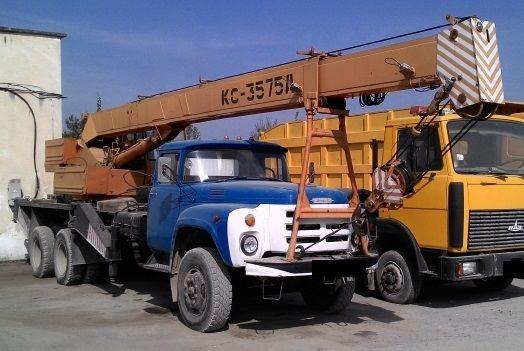 Фото 2 - Продоставляем услуги автокрана КС-3575А, 10 тонн, ЗИЛ 133ГЯ, 1988 г.в.