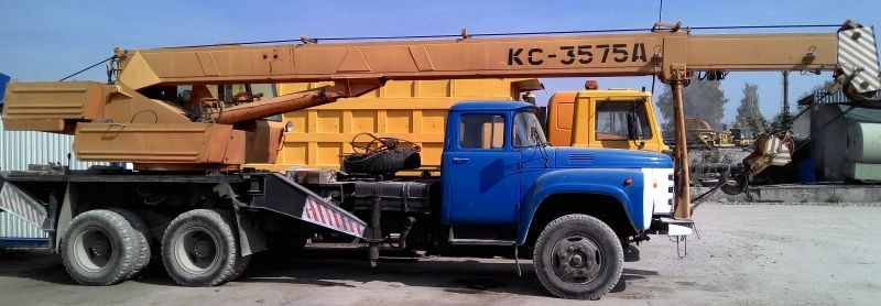 Фото 3 - Продоставляем услуги автокрана КС-3575А, 10 тонн, ЗИЛ 133ГЯ, 1988 г.в.