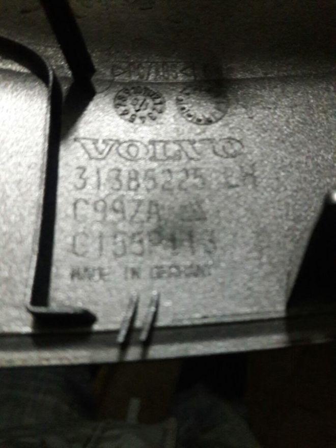 Volvo XC90 зеркало 31385673 4