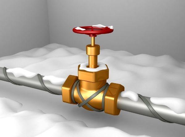 Обогрев труб и трубопроводов. Защита от замерзания