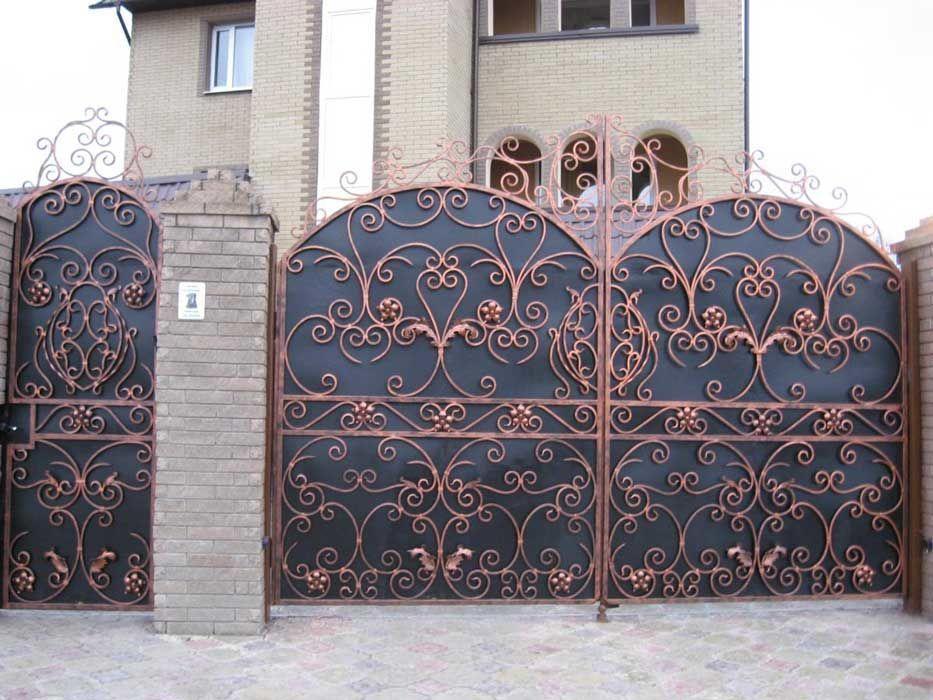 Фото 3 - Ворота Решетки Забори